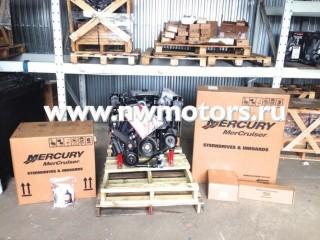 Комплект: двигатель Mercruiser 4.3L MPI 220 л.с. + транцевая сборка Bravo + поворотно-откидная колонка Mercruiser Bravo Three 3