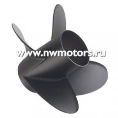 Алюминевый гребной винт Quicksilver Diamond 4, четырехлопастной, диаметр 14, шаг 20, вращение Л