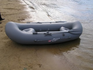 Надувная ПВХ лодка «Вуокса V-240»